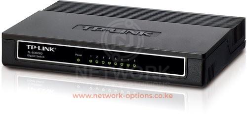TP-Link TL-SG1008D 8-Port Unmanaged Gigabit Network Switch