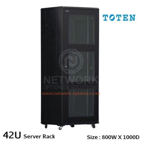 Toten 42u 600x800mm Networking Rack Network Options And