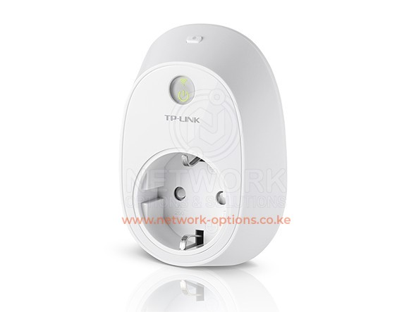 TP-LINK Wi-Fi Smart Plug with Energy Monitoring White (HS110)